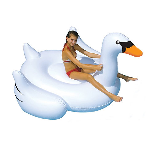 """75"""" Giant White Swan"""