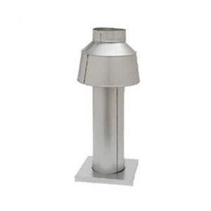 Raypak Indoor Vent, fits models 336/337, 8 in - 009840