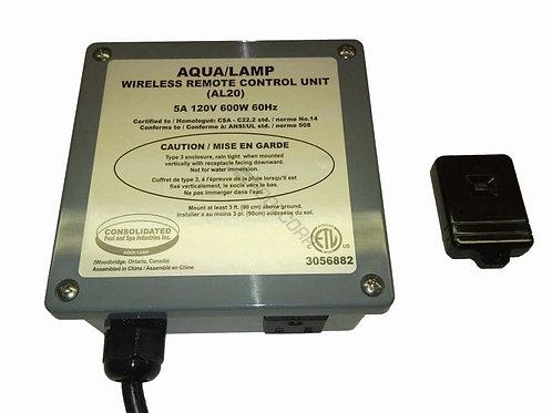Aqua Lamp Part Wireless Remote Control Unit - AL20