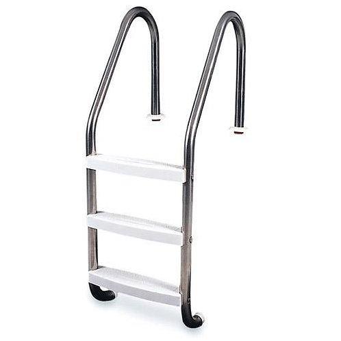Stainless Steel 3 Tread Bronze Series Ladder