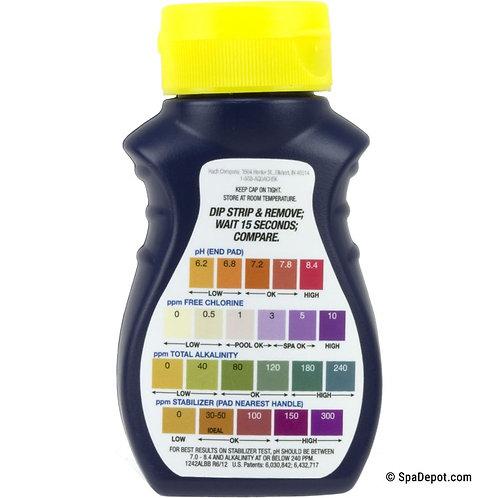AquaChek Yellow 4-in-1 Test Strips - For Chlorine