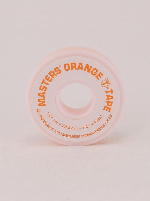 Masters' Teflon Tape Orange