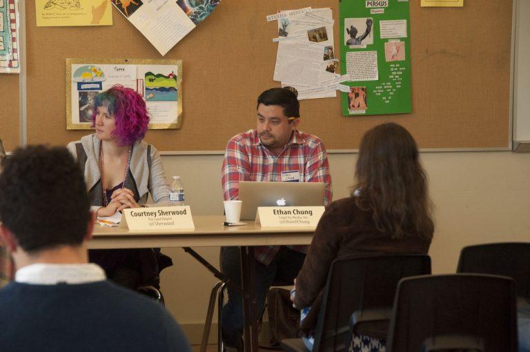 SPJ Freelance Journalism Panelists. PC: Brandon Taylor
