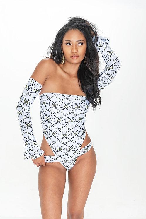 VL: Ibiza one-piece swimsuit
