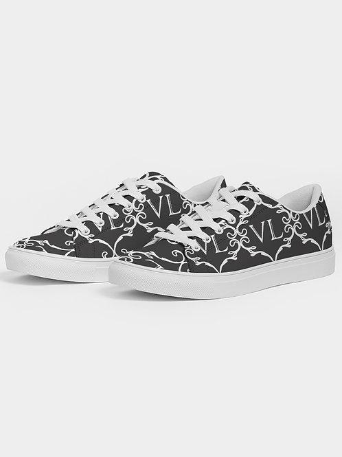 Faux-Leather Sneaker
