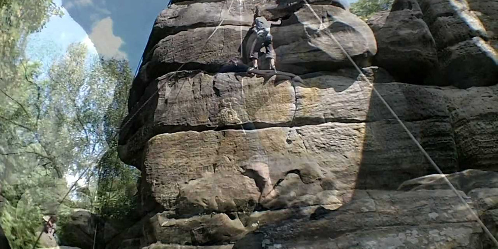 Southern Sandstone climbing.