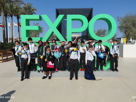 Visit to Expo 2020 (October 18)