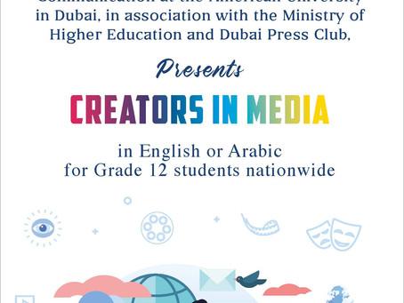 Creators in Media Competition