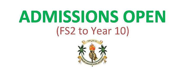 Admission 2020-2021