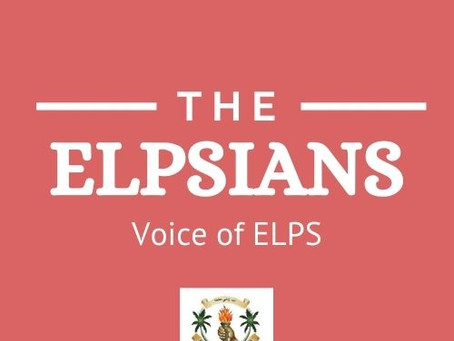 15th Edition of ELPSians, the newsletter