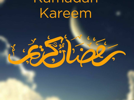 Ramadan Kareem to all our Muslim brothers and sisters