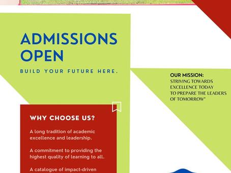 Admissions 2021-2022