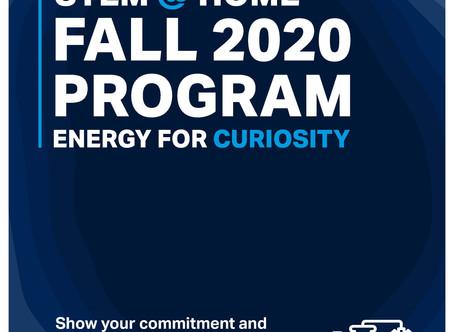 ADNOC STEM @ HOME Fall 2020: Energy for Curiosity!