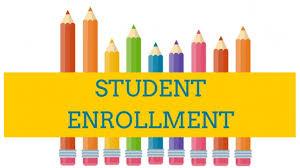 Students Enrollment in Progress