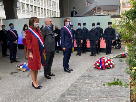 Commémoration de la libération de Paris