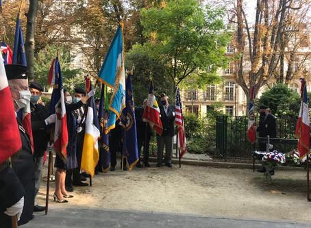 Hommage aux victimes du 11 septembre