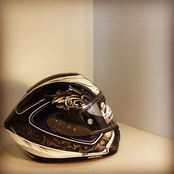 #rods70x _#rodsdesign_#paint_#custompaint _#helmet _#motorcycle