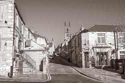 Honley - View up Church Street