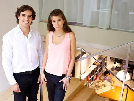 Pablo Llorens and Josefina García