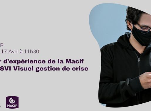 [Webinar] MACIF X dialonce : SVI VISUEL GESTION DE CRISE