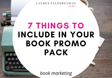 7 things to include in your book promo pack