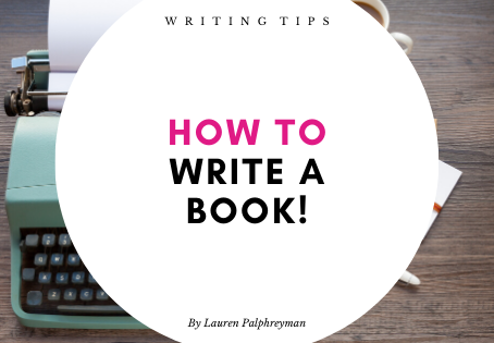 How to write a book!