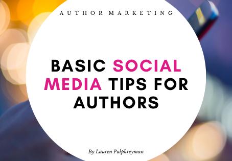 Basic social media tips for authors