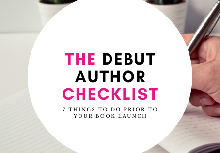 The debut author checklist