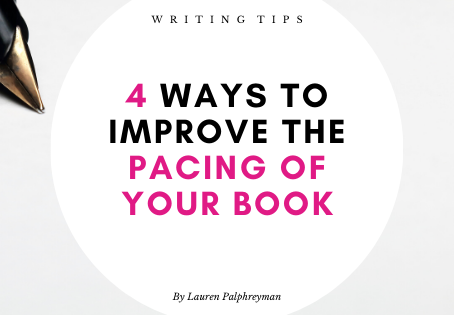 4 ways to improve the pacing of your book
