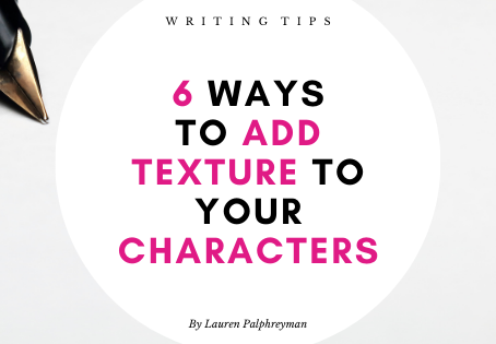6 ways to add texture to your characters!