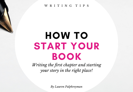 How to start your book