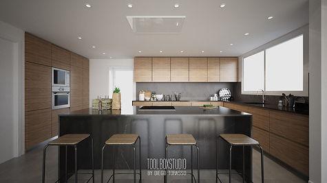 diseno-cocina-moderna-minimalista-rustic