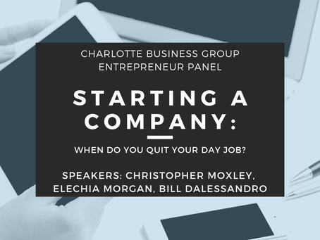 Starting a Company: When Do You Quit Your Day Job?