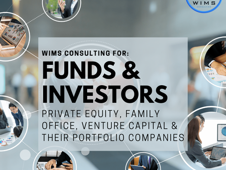 WIMS Consulting for Funds & Investors: Private Equity, Family Office, Venture Capital & Th