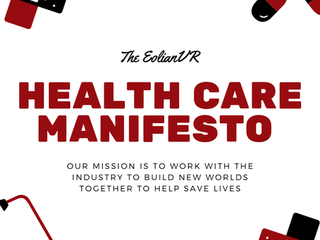 The EolianVR Health Care Manifesto