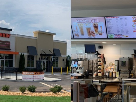 Dunkin' Brings First Next Generation Store to Sherrills Ford
