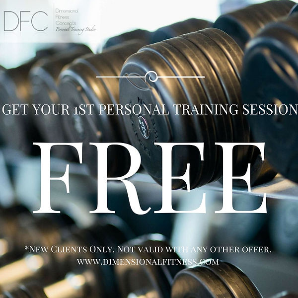 Free Personal Training Session