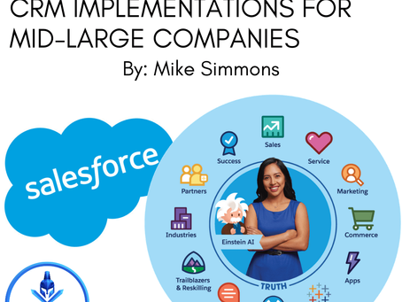 Enterprise Level Salesforce.com CRM Implementations for Mid-Large Companies