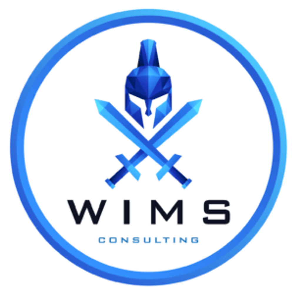WIMS Consulting Logo Blue