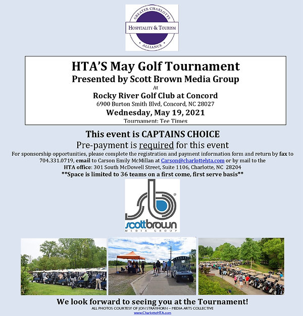 HTA's May Golf Tournament - Presented by