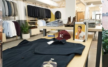 Charlotte Based Menswear Brand OMJ Opens New Location, in Southend's Design Center of the Carolinas