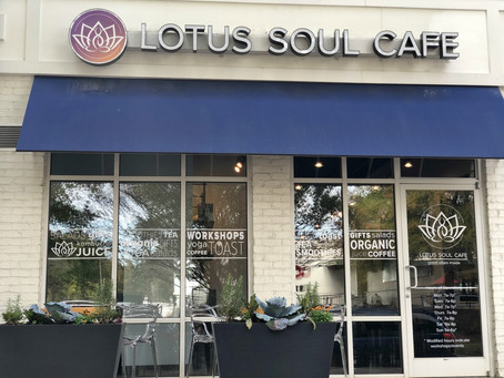 LOTUS SOUL CAFÉ OPENS IN CORNELIUS ON NOVEMBER 23