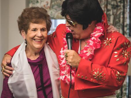 Charlotte Seniors Groove to Elvis Tribute