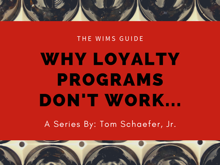 Why Loyalty Programs Don't Work…