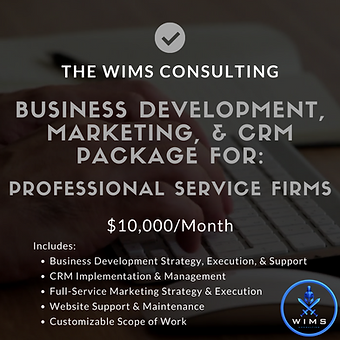 WIMS Consulting Professional Services Fi