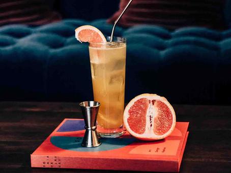 Stillhouse Black Bourbon, along with a CBD oil cocktail made with their Stillhouse Peach Tea Whiskey