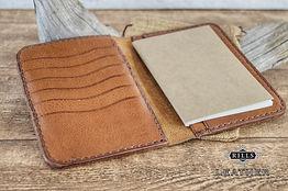 Italian Leather Luxury Travel Passport Wallet