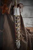 Lace Up Leather Parasol Belt Holster Holder Steampunk