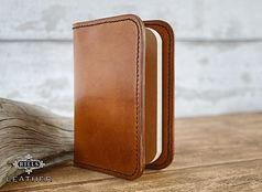 Leather Passport Travel Journal Wallet Holder