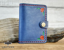 Beauty and The Beast Themed Leather Wallet